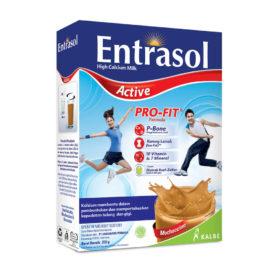 dukung olahraga untuk sembuhkan penyakit dengan Entrasol Active