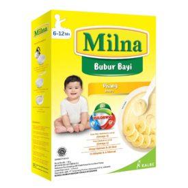 berikan MPASI Milna untuk makan perdana Si Kecil