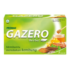 atasi kembung saat touring dengan Gazero