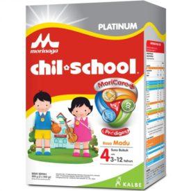 beri nutrisi terbaik Morinaga Chil School Platinum untuk memperkuat daya tahan tubuh anak
