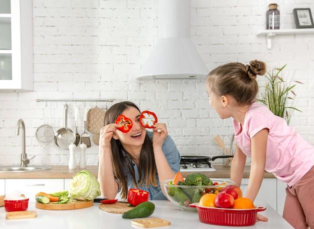 ketahui manfaat vegetarian untuk anak