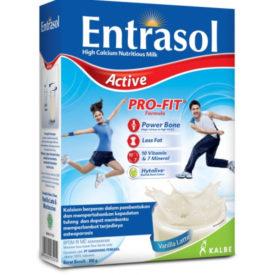 Entrasol Active membantu Anda aktif menjalankan aktivitas harian