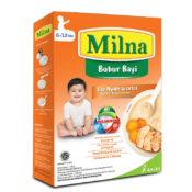 beri nutrisi makanan yang tepat seperti yang terkandung pada Milna untuk membantu menumbuhkan rambut anak
