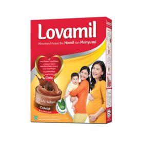 tetap aktif walau menyusui dengan Lovamil