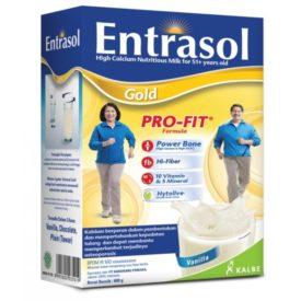 lengkapi nutrisi tulang Anda dengan susu terpercaya Entrasol Gold