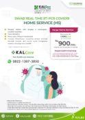 dapatkan layanan RT-PCR home service dari KalGen Innolab