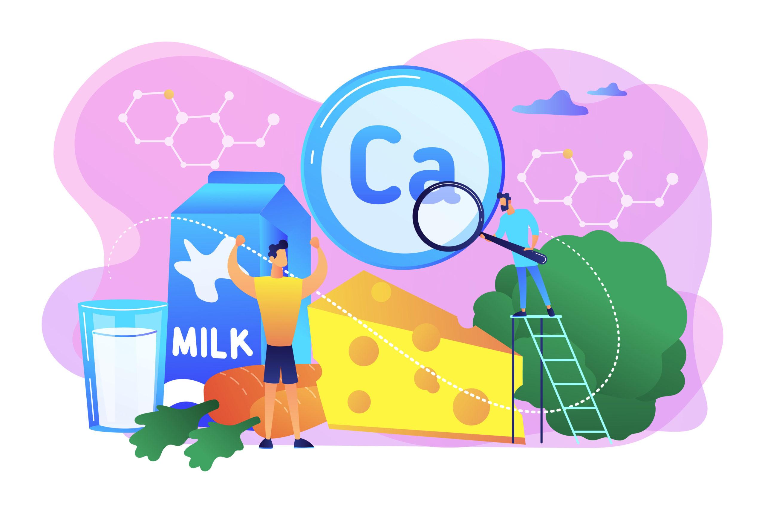 kalsium kandungan penting di susu Entrasol