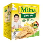 kreasi resep MPASI dengan Milna Biskuit Bayi