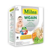 Milna bubur bayi WGAIN untuk dukung anak tumbuh sehat dengan mendukung kenaikan berat badan