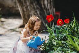 berkebun melatih anak bertanggunjawab untuk merawat tanaman yang ditanam