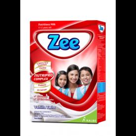menyajikan susu Zee untuk menghangatkan dan menunjang anak tumbuh tinggi banyak akal