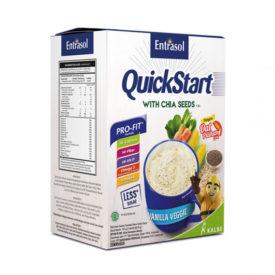 sarapan sereal praktis dengan Entrasol Quick Start