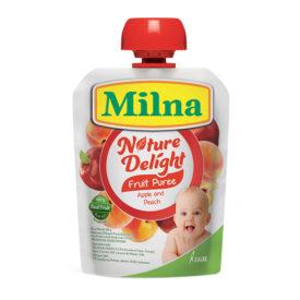 Milna Nature Delight Apple and Peach