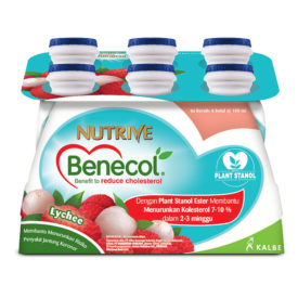 Nutrive Benecol-Lychee-6x100ml
