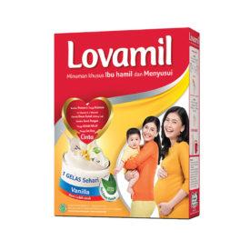 Lovamil susu untuk mendukung kehamilan dan menyusui