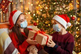 sejarah memberikan hadiah selama natal