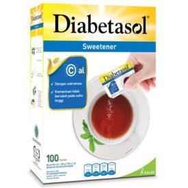 Diabetasol Sweetener gula yang aman bagi penderita diabetes