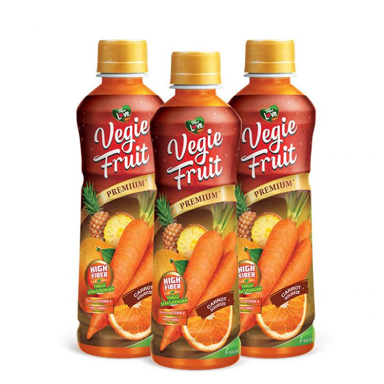 Kreasi resep fruitty jelly dengan vegie fruit carrot punch