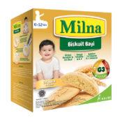 kreasi MPASI sehat dengan Milna Biskuit Bayi