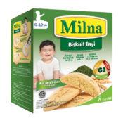 camilan bernutrisi Milna Biskuit Bayi Kacang Hijau