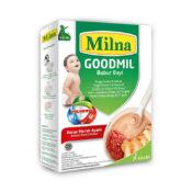 kreasi resep MPASI dengan Milna Goodmil beras merah ayam
