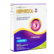 Temukan referensi kreasi resep pasien ginjal dengan dialisis menggunakan Nephrisol-D