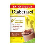 Diabetasol susu dan makanan diet khusus untuk diabetes