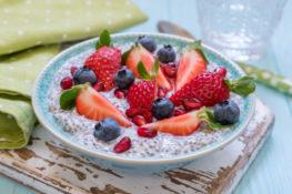 resep porridge chia seed