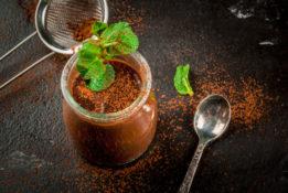 resep puding cokelat sehat untuk diet dengan Slim&Fit