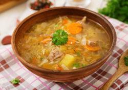 resep sup daging sayuran dengan Hydro Coco