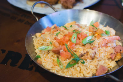 kreasi nasi goreng baru tomato rice