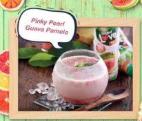 ayo coba buat pinky pearl guava pamelo di rumah