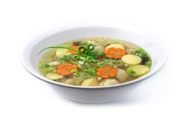 kreasi resep sup tahu sehat untuk kolesterol