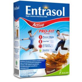 Entrasol Active untuk kepadatan tulang anda