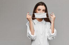 tips menonjolkan kecantikan wajah walau menggunakan masker