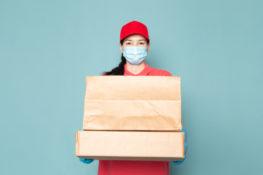tips mencegah penyebaran virus melalui paket delivery