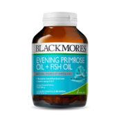 atasi sakit perut selama menstruasi dengan Blackmores Evening Primrose Oil + Fish Oil