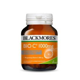 jaga daya tahan tubuh selama musim hujan dengan Blackmores Bio C 1000mg