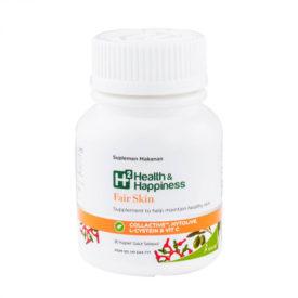 Vitamin kecantikan H2 Fair Skin untuk menghilangkan flek hitam pada kulit