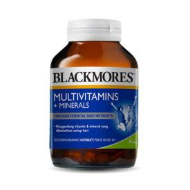 konsumsi Blackmores Multivitamins & Minerals untuk menambah berat badan