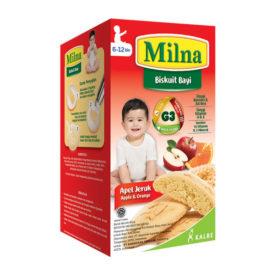 Milna Biskuit Bayi Apel Jeruk